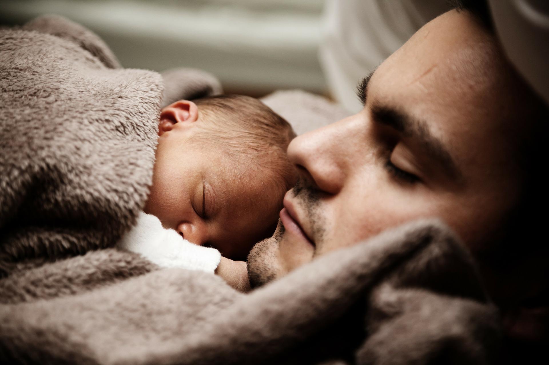vader-baby IMH Nederland