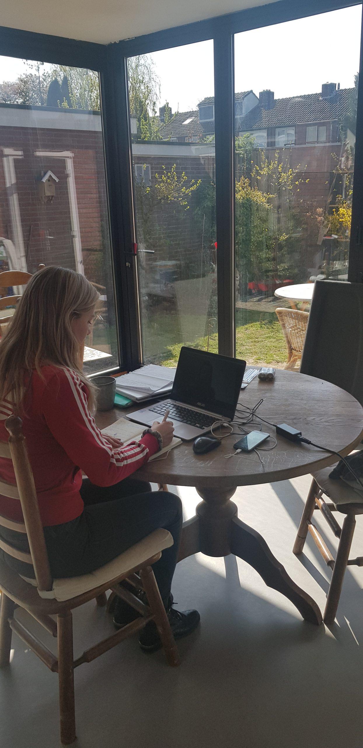 Nanniek Thuiswerken Videobellen IMH Nederland