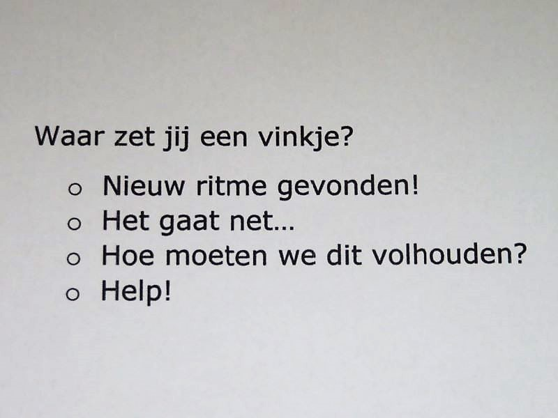 Hoe gaat het nu met jullie IMH Nederland