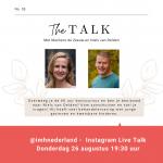 Instagram live talk - Niels van Delden